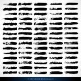 75 spazzole asciutte di lerciume di vettore Fotografie Stock