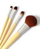 Spazzole cosmetiche Fotografie Stock Libere da Diritti