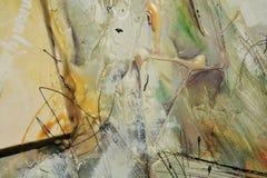 Spazzole della pittura a olio Fotografia Stock Libera da Diritti