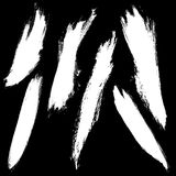 Spazzole di Grunge Fotografia Stock Libera da Diritti