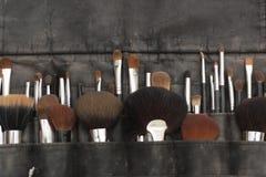 Spazzole di trucco. Immagine Stock