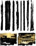 Spazzole e bandiere Fotografie Stock Libere da Diritti