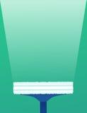 Spazzole piane dell'illustrazione per lavare le finestre Fotografia Stock Libera da Diritti