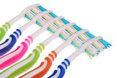 Spazzolini da denti (percorso di ritaglio) Fotografia Stock Libera da Diritti