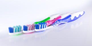 Spazzolino da denti Fotografia Stock