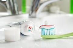 Spazzolino da denti Fotografie Stock Libere da Diritti