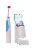 Spazzolino da denti elettrico Fotografia Stock