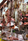 Spécialités italiennes de nourriture Photos stock