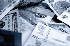 spéculation d'urrency de  du Rouble-dollar Ñ Photos stock
