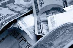 spéculation d'urrency de  du Rouble-dollar Ñ Images libres de droits