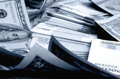 spéculation d'urrency de  du Rouble-dollar Ñ Photographie stock libre de droits