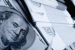 spéculation d'urrency de  du Rouble-dollar Ñ Image libre de droits