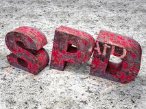 SPD-crisi illustrazione di stock