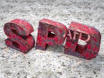 SPD-crisis stock de ilustración
