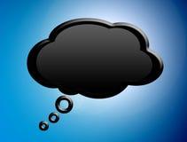 Speak cloud Royalty Free Stock Photos