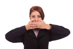 Speak No Evil Royalty Free Stock Image
