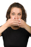 Speak no Evil royalty free stock images