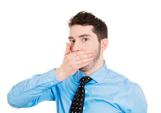 Speak no evil Royalty Free Stock Photos
