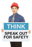 Speak Out For Safety Royalty Free Stock Image