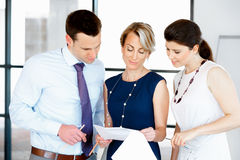 Speak to our team of great professionals Stock Photography
