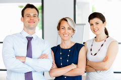 Speak to our team of great professionals Stock Image