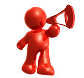 Speak your mind. And thought icon Stock Photo