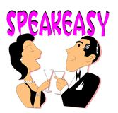Speakeasy concept Stock Image