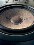 Speaker. Macro speacker stock photography
