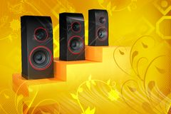 Speaker Royalty Free Stock Photography