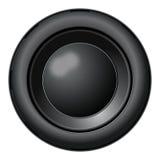 Speaker. Round speaker illustration on a white background royalty free illustration