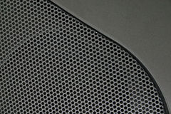 Speaker. Close up of a speaker royalty free stock photos
