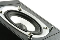 Speaker. Close up of a hifi speaker Stock Image