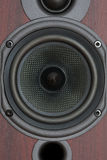 Speaker. Close-up of the loudspeaker royalty free stock photo