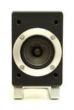 Speaker. Isolated speaker that is part of a surround system royalty free stock image