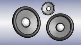 Speaker 3d Royalty Free Stock Images