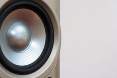 Speaker. For you music website Stock Photo