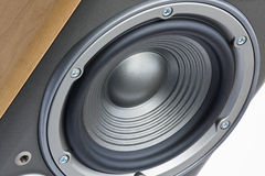 Speaker. Close up of hifi speaker stock images