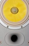 Speaker. 2-way speaker stock photo