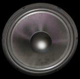 Speaker. A large speaker royalty free stock photo