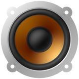 Speaker. Vector illustration of a loud speaker Stock Image