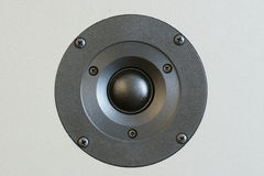 Speaker. Closeup of a Tweeter, speaker Royalty Free Stock Photos