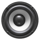 Speaker. On white background (hi-fi component Royalty Free Stock Photography