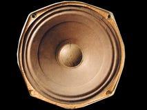 Speaker. Old speaker Royalty Free Stock Photography