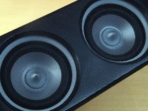 Speaker. Close-up Stock Image