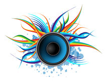 Speaker - abstract background Royalty Free Stock Photography