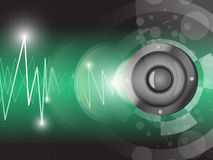 Speaker Abstract Background. EPS 10 Vector Royalty Free Illustration