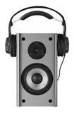 Speaker And Headphone Stock Photos