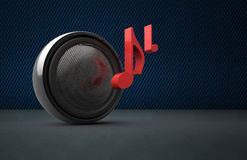 Speaker  as concept Royalty Free Stock Images
