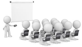 Speaker and Audience. Royalty Free Stock Image