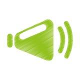 speaker audio device icon Royalty Free Stock Images